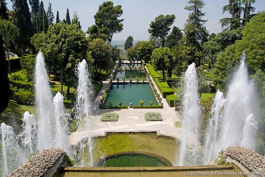 Jardin Villa deste Fontaine