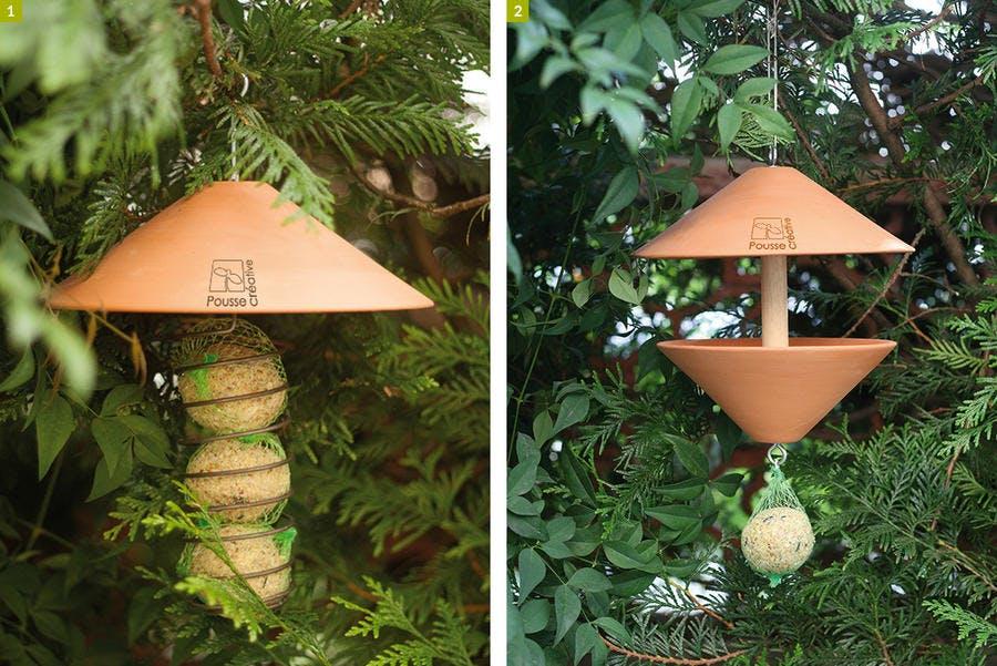 mangeoires à oiseaux botanic