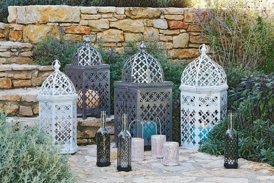 Lanternes d'inspiration marocaine