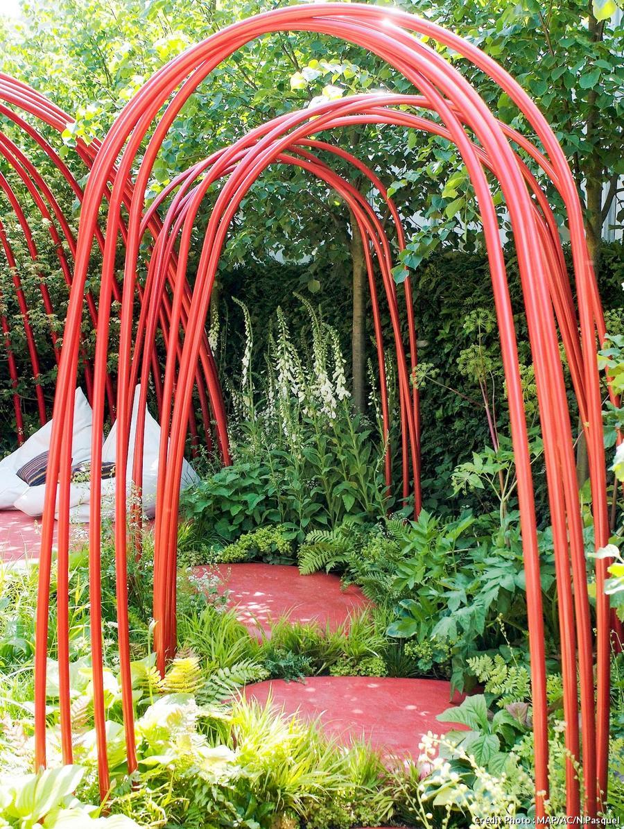 Arche De Jardin Portique Supports Pour Plantes Grimpantes