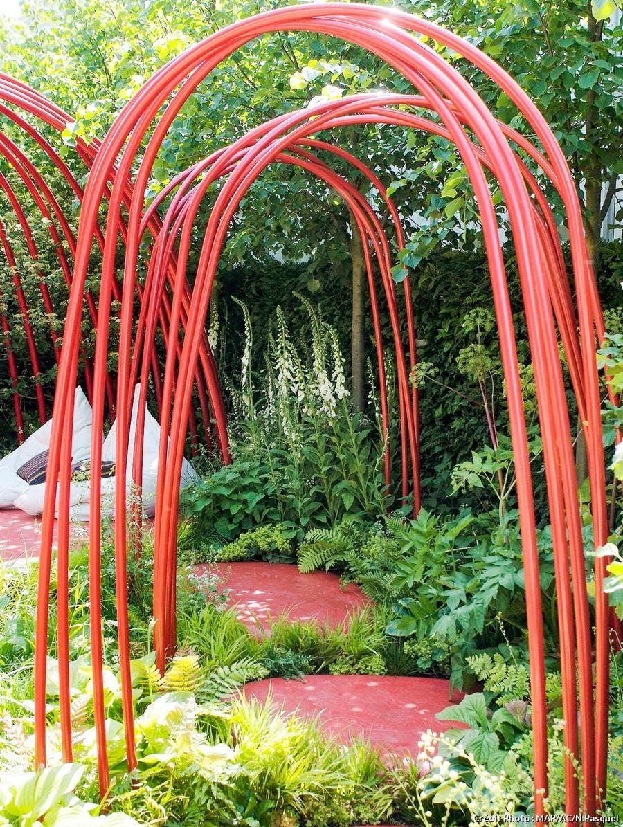 Fabriquer Treillis Bois Pour Plantes Grimpantes arche de jardin, portique : supports pour plantes grimpantes