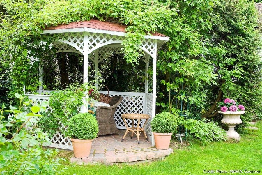 Kiosque Jardin Kiosque En Bois Pour Jardin Detente Jardin