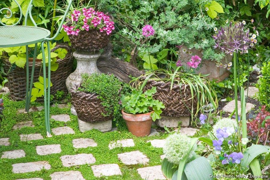 7 astuces pour une mousse d corative au jardin d tente - Decoration de jardin a fabriquer ...
