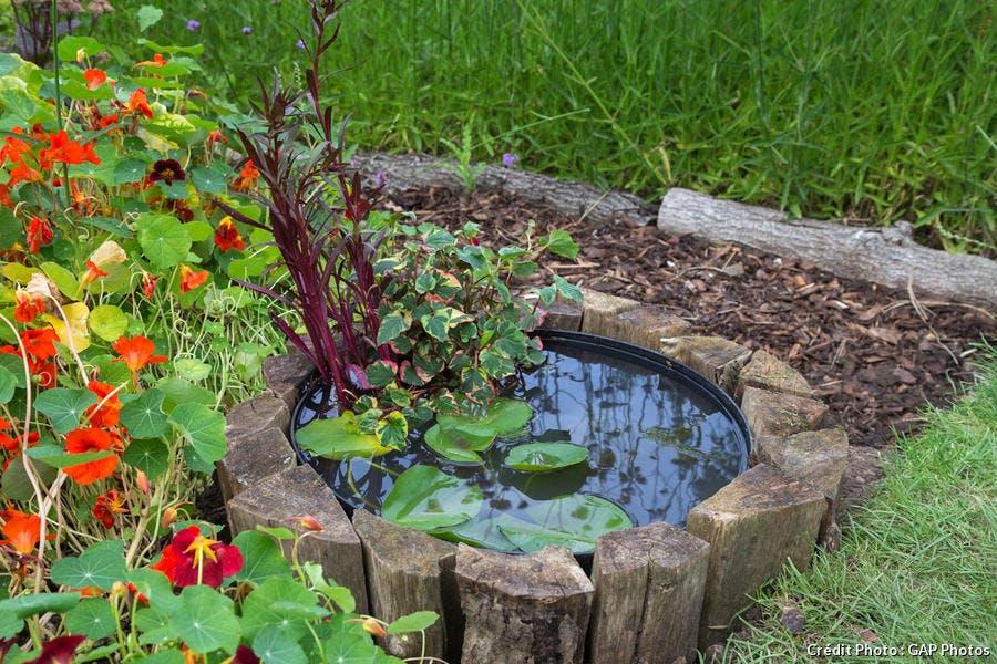 Créer un mini-bassin en 2 heures chrono dans votre jardin | Détente ...