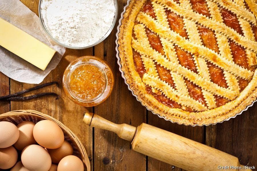 tarte aux coings