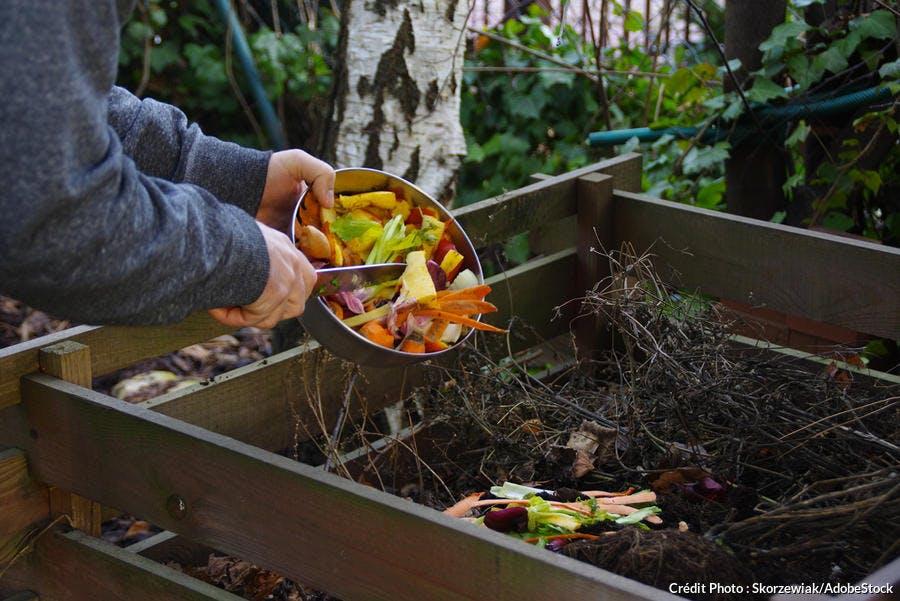 Faire du compost avec les petites chutes de bois