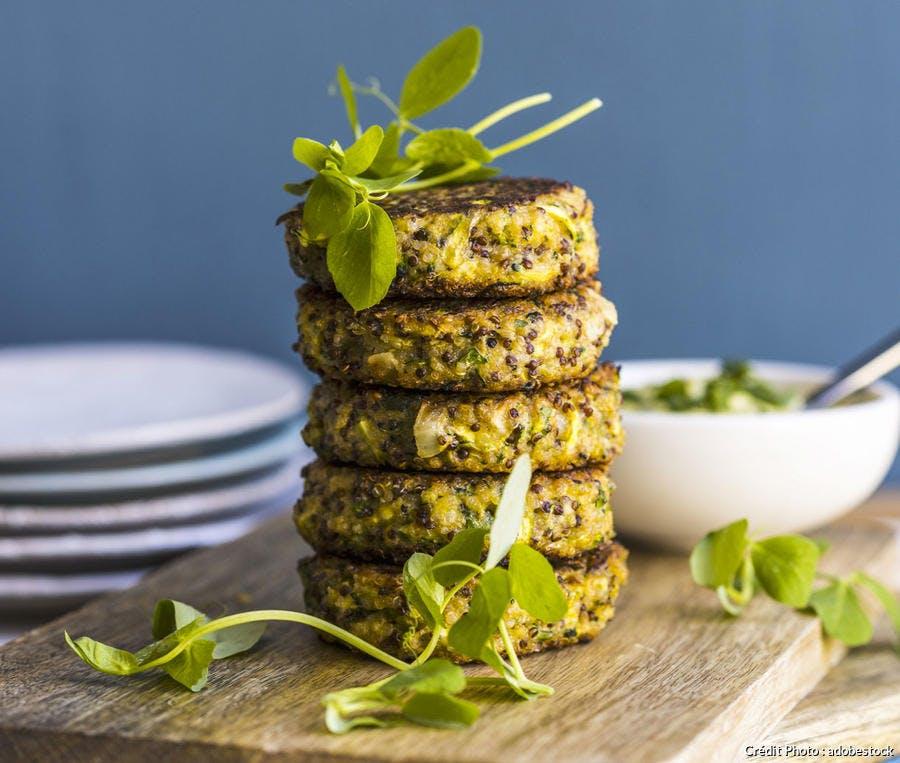 Galettes de quinoa au chou-fleur