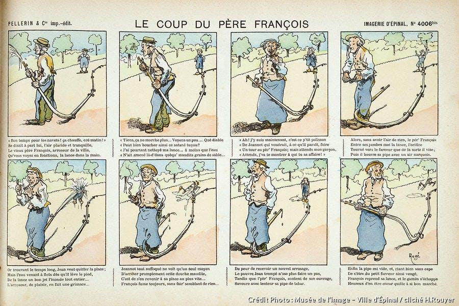image d'Épinal, Le Père François