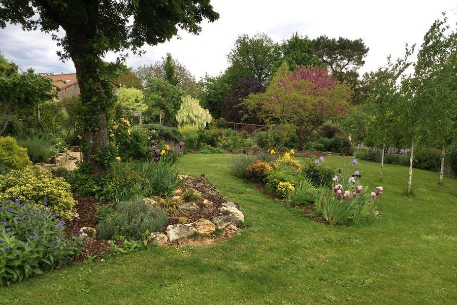 Jardin de M. Parker dans les Deux-Sèvres