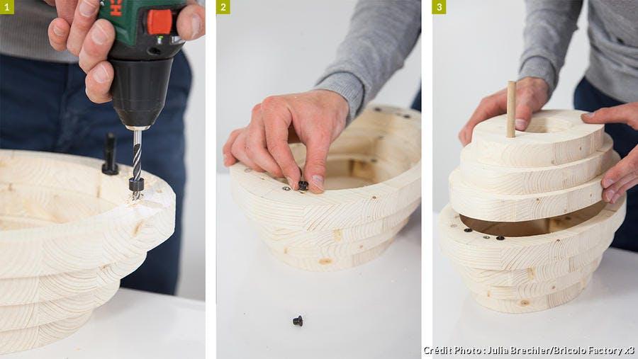 Comment faire un nichoir design en bois