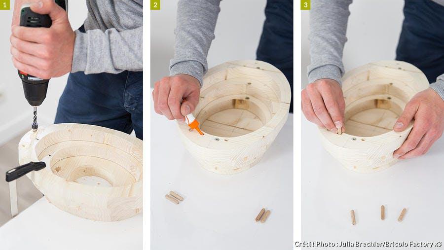 Fabrication d'un nichoir en bois design