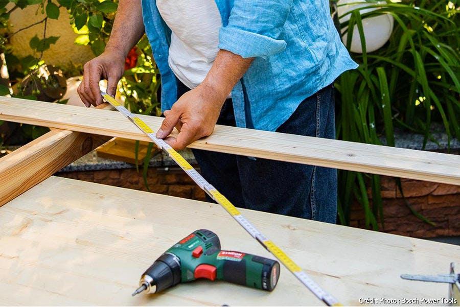 Comment faire le brise vue en bois