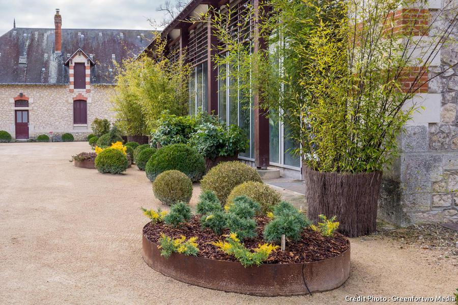 Les jardins de Chaumont-sur-Loire en hiver (visite ...