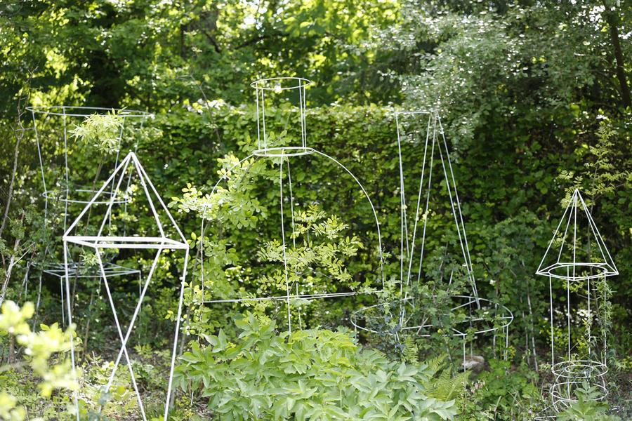 Le jardin perdu - Chaumont 2015