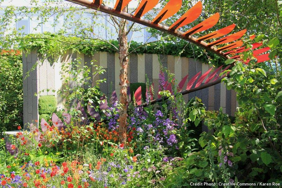 Jardin de Caroline E Butler à Chelsea
