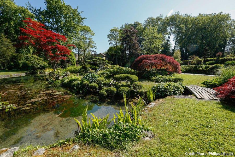 Jardin japonais Courances