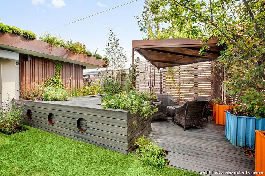 Jardin et terrasse en bois