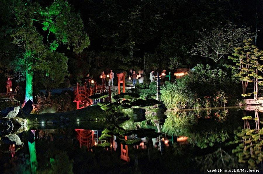 Nocturnes au parc oriental de Maulévrier