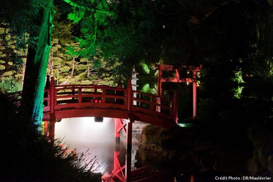 Pont au parc oriental de Maulévrier