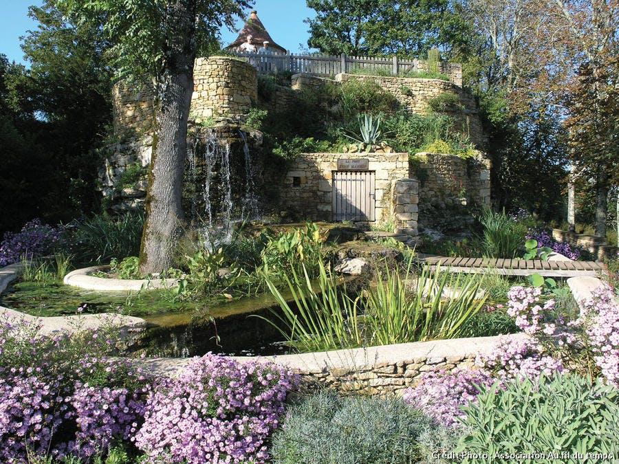 Le jardin d'eau de Limeuil