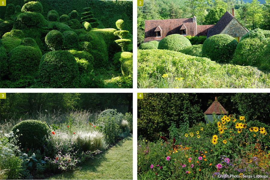 Les jardins de l'Albarède, au cœur du Périgord noir