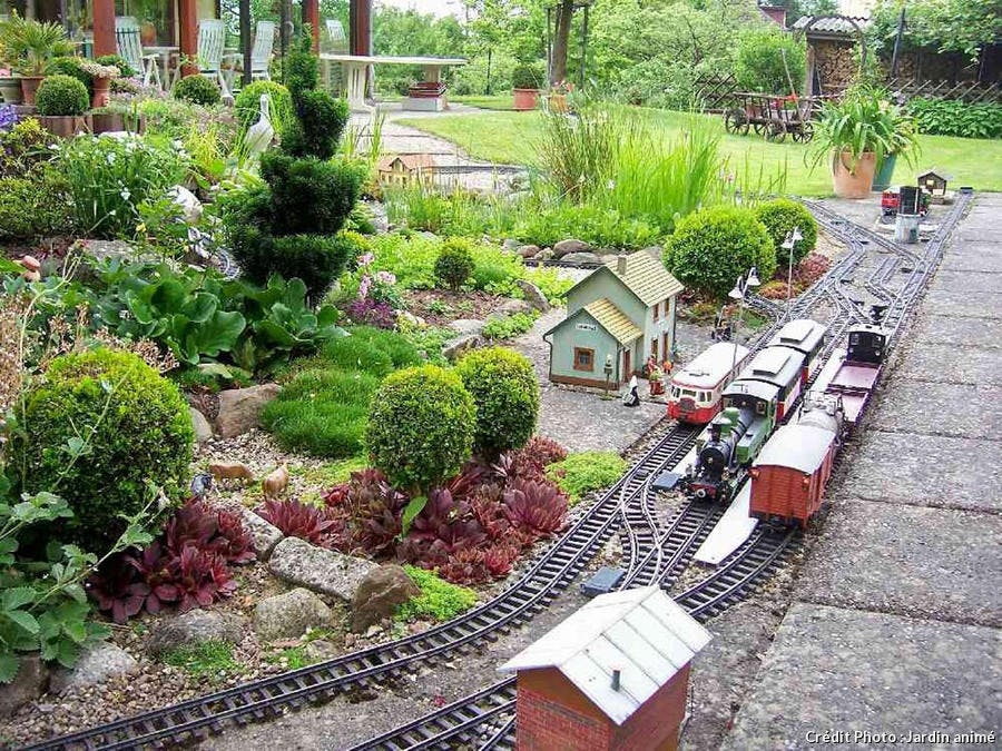 Jardin animé et potager
