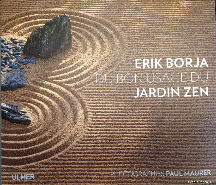 Couverture livre Erik Borja, jardin zen