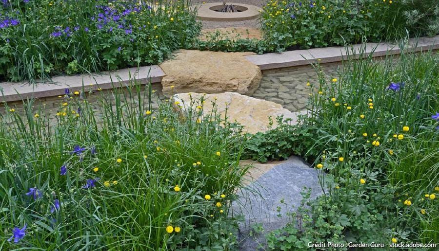 Rigole jardin