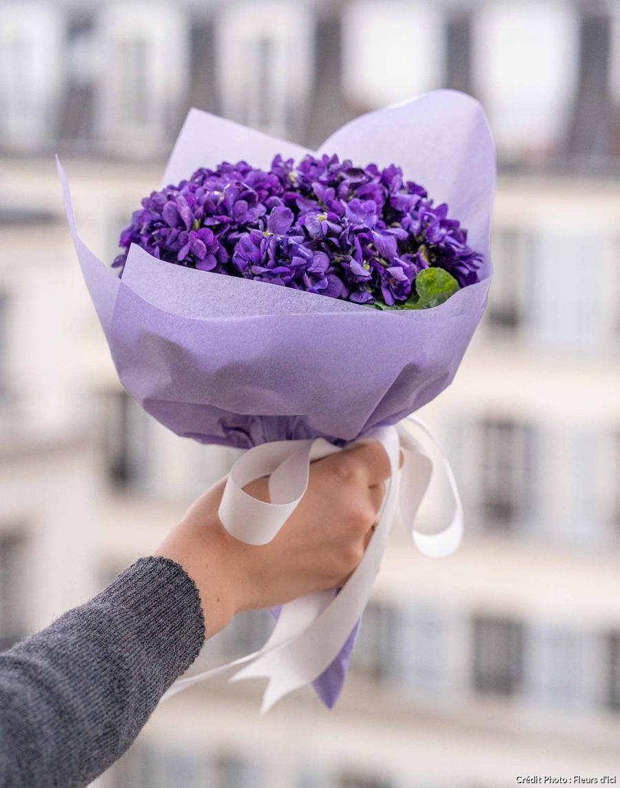 Bouquet de violettes