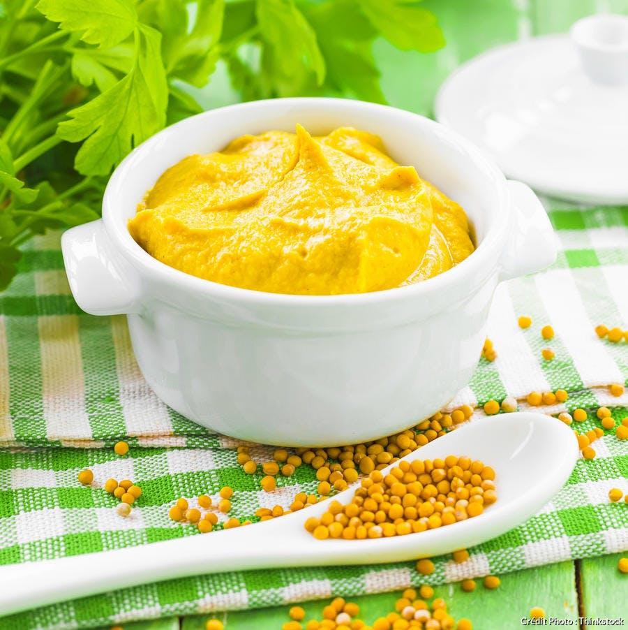 recette de moutarde maison