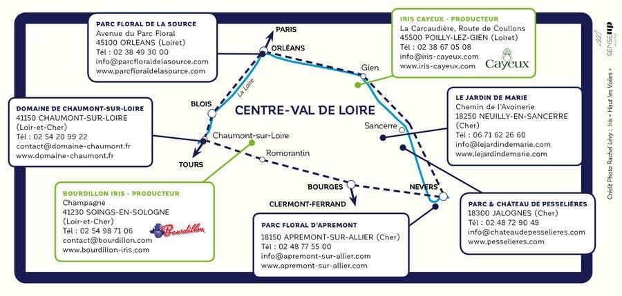 flyer route des iris