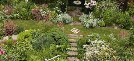 Jardin en pente (après)