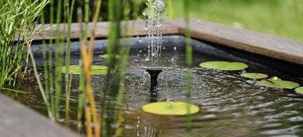 Fontaine et jeux d'eau