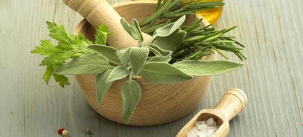 huile d'olive aux herbes
