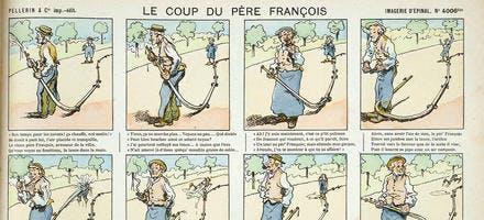 le coup du Père François - Imagerie d'Épinal