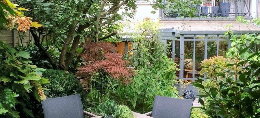 jardin contemporain - Détente Jardin