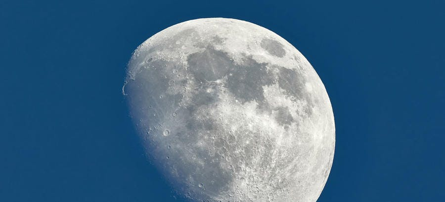 Lune gibbeuse Calendrier lunaire