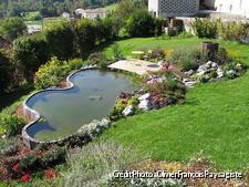 Créer un bassin sur un terrain pentu