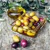 Conservation des olives dans l'huile